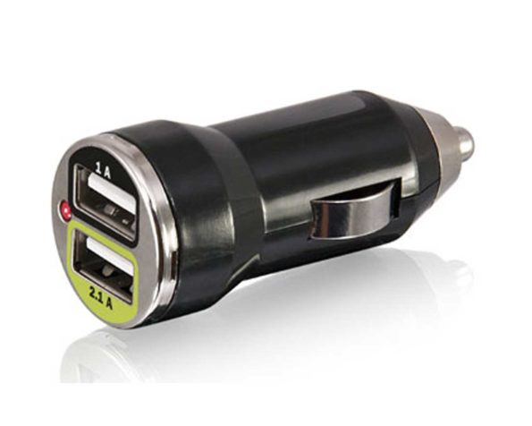 Dual socket USB charger