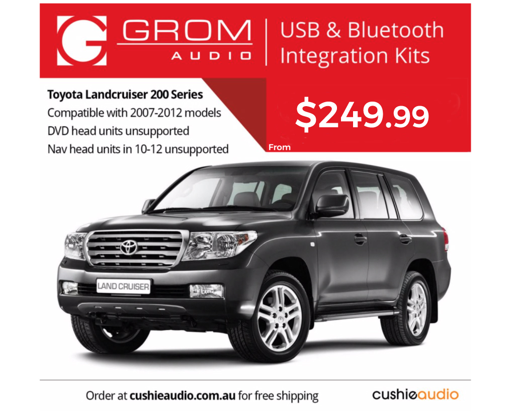 GROM Bluetooth for LandCruiser 200 Series