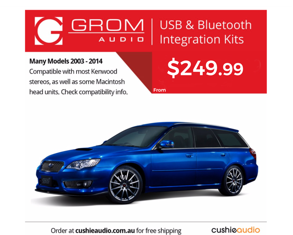 GROM Bluetooth & USB for Subarus