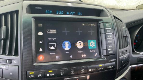 Toyota Landcruiser Sahara Android Auto