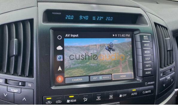 Grom Vline Toyota Landcruiser Sahara Android Auto